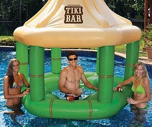 Floating Tiki Bar