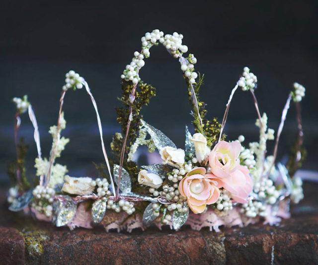 Flower Wire Crown
