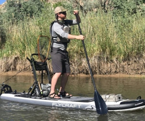 4fb6d737ded Inflatable Fishing Stand Up Paddle Board