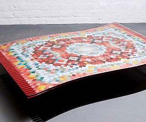 Cute Flying Carpet Coffee Table
