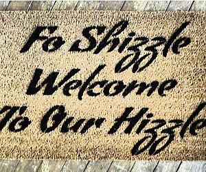 Fo Shizzle Doormat