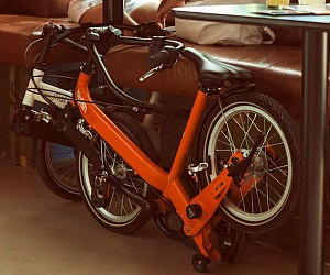 Three Speed Folding Bicycle