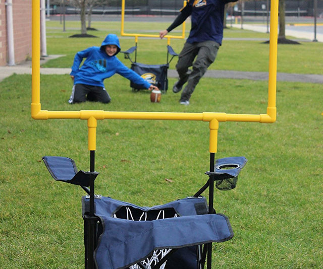 Incredible Folding Chairs Football Goal Posts Andrewgaddart Wooden Chair Designs For Living Room Andrewgaddartcom