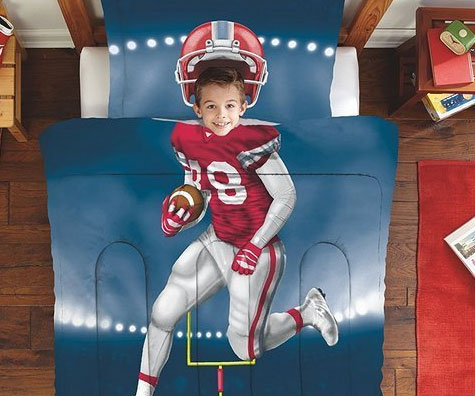 Football Player Bedding