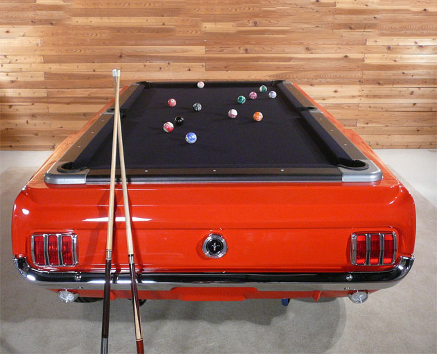 Ford Mustang Pool Table - Mustang pool table
