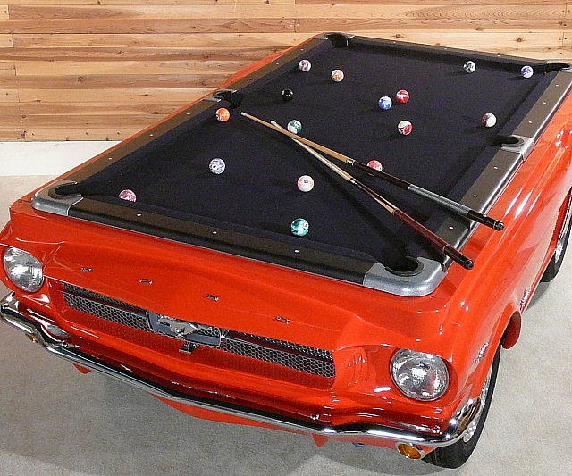 Ford Mustang Pool Table - Memphis pool table movers