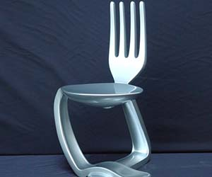 Eating Utensils Chair