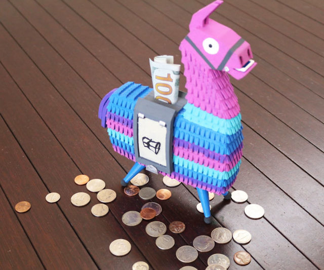 Fortnite Llama Coin Bank