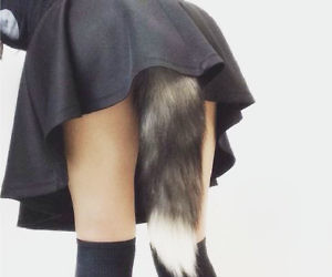 fox tail butt plug