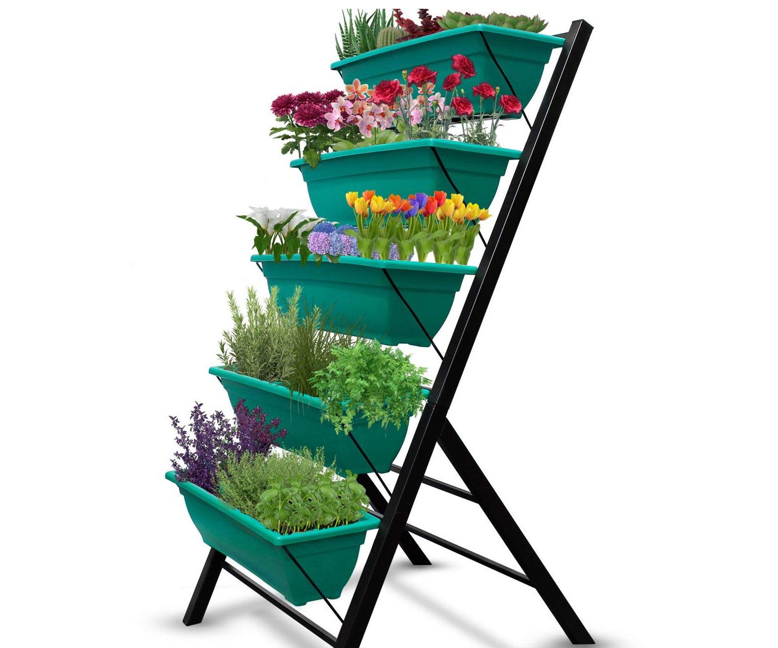 Freestanding Vertical Planter Garden
