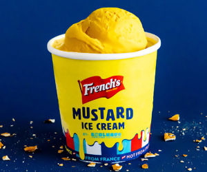 Mustard Ice Cream
