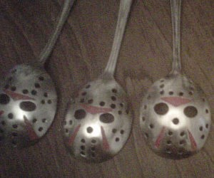 Jason Hockey Mask Spoon
