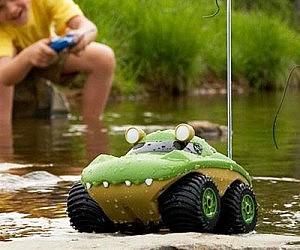 Amphibious R/C Car