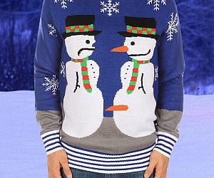 Frosty The Nose Thief Sweater