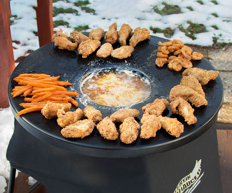 Portable Outdoor Propane Deep Fryer