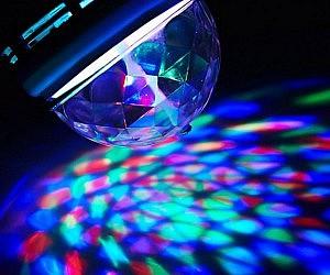 Rotating LED Strobe Lamp