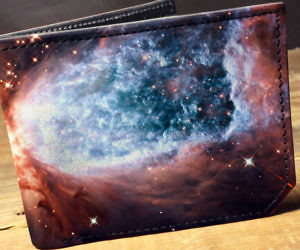 Galaxy Leather Wallet