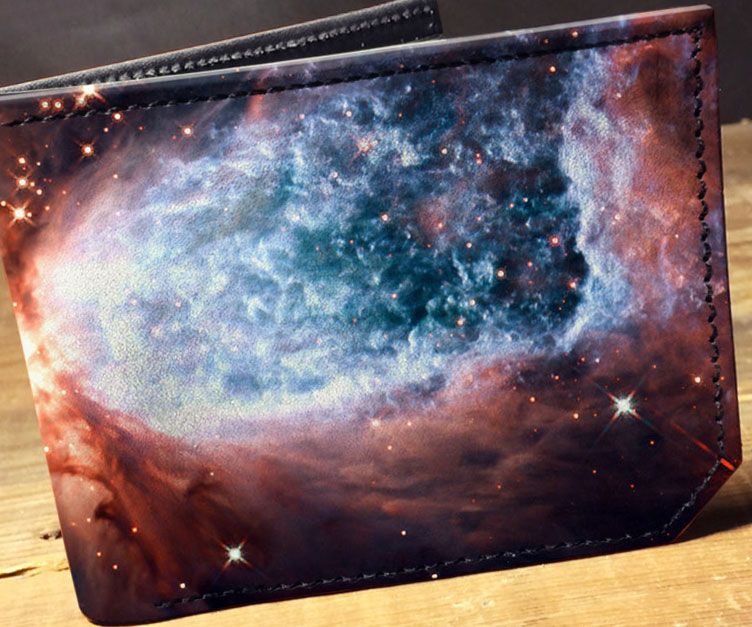 Elegant Galaxy Wallet