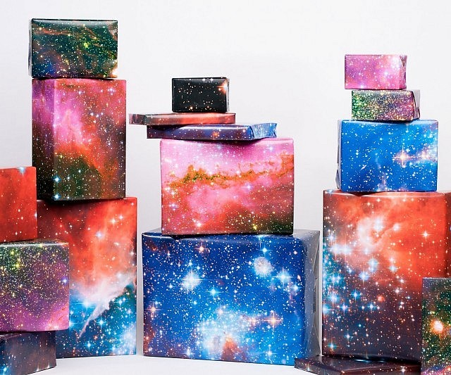 Beautiful Galaxy Wrapping Paper