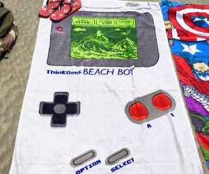 Game Boy Towel