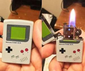 Game Boy Zippo Lighter