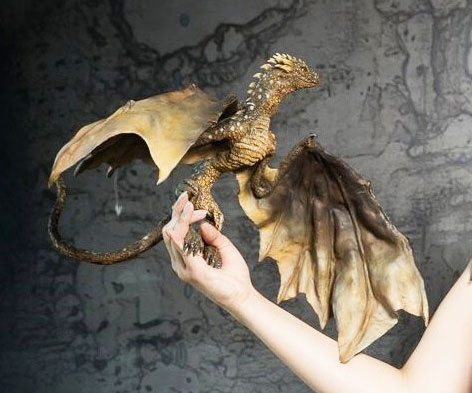 Game Of Thrones Baby Dragon Sculpture