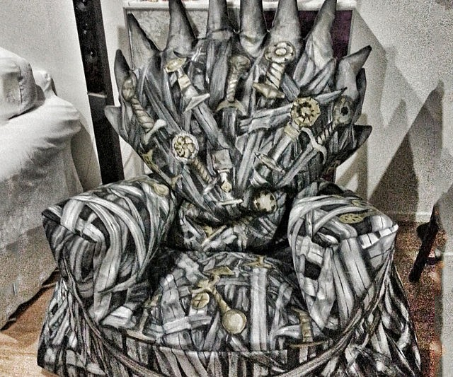 Iron Throne Bean Bag Chair
