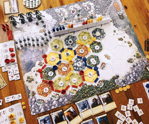 Game Of Thrones Catan Board Game