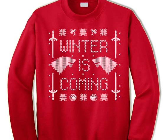 Is Coming Ugly Christmas Sweater