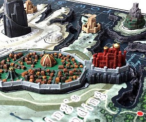 Game of Thrones 3D Map Puzzle