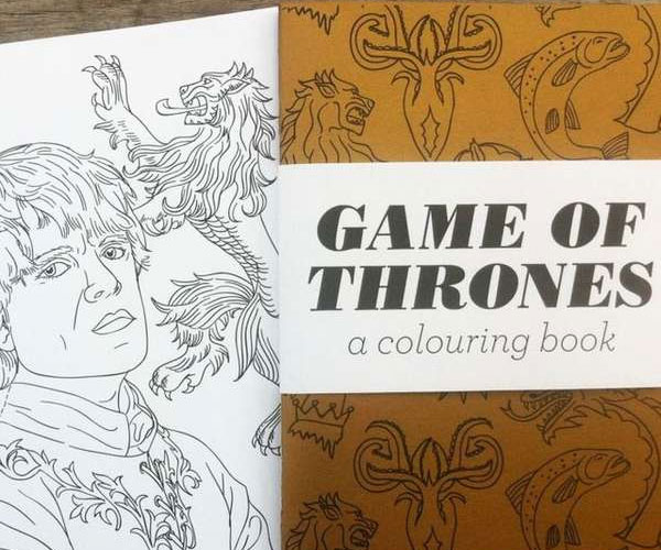 Game Of Thrones Coloring Book Target