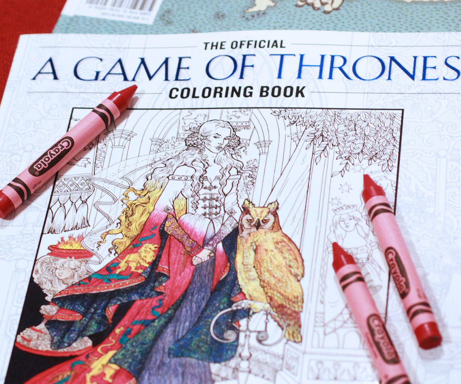 Game Of Thrones Coloring Book - coolthings.us