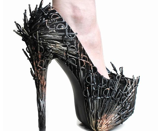 bb0b4dc3b84 Iron Throne High Heels