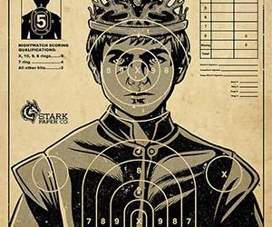 King Joffrey Shooting Target