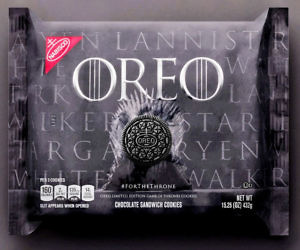 Game Of Thrones Oreo Cookies