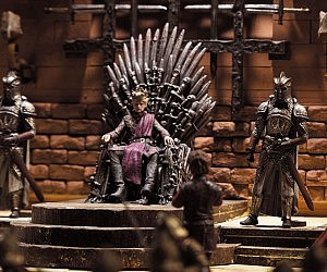 Iron Throne Room Playset
