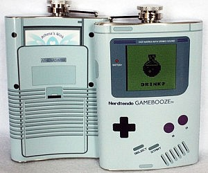 Game Boy Flask