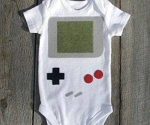 Nintendo Game Boy Onesie