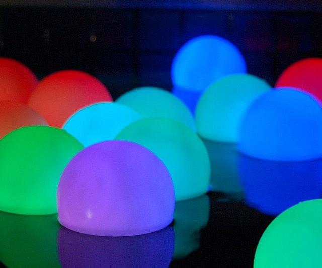 cool mood lighting. Garden Mood Light Balls Cool Lighting