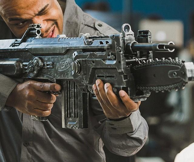 Gears Of War NERF Lancer Gun