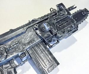 Largest toy pistol NERF fight Texas