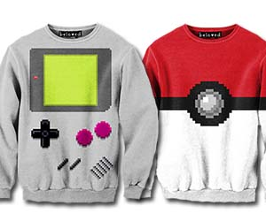 Geeky Pixelated Sweaters