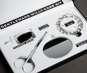 gentlemans penis grooming kit