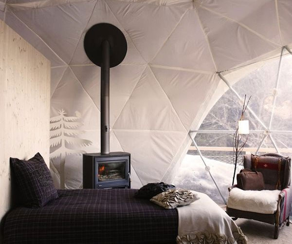 Dome Home Interiors: Geodesic Glass Dome Home