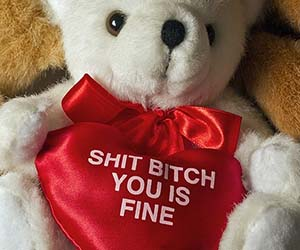 Ghetto Romantic Teddy Bear