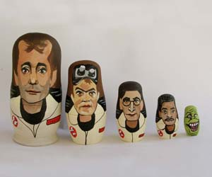 Ghostbusters Nesting Dolls