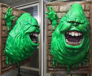 Ghostbusters Slimer Sculpture