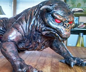 Ghostbusters Terror Dog Statue