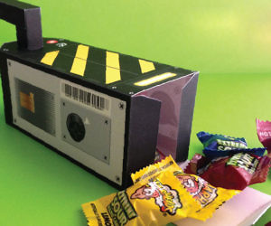 DIY Ghostbusters Party Favor Box