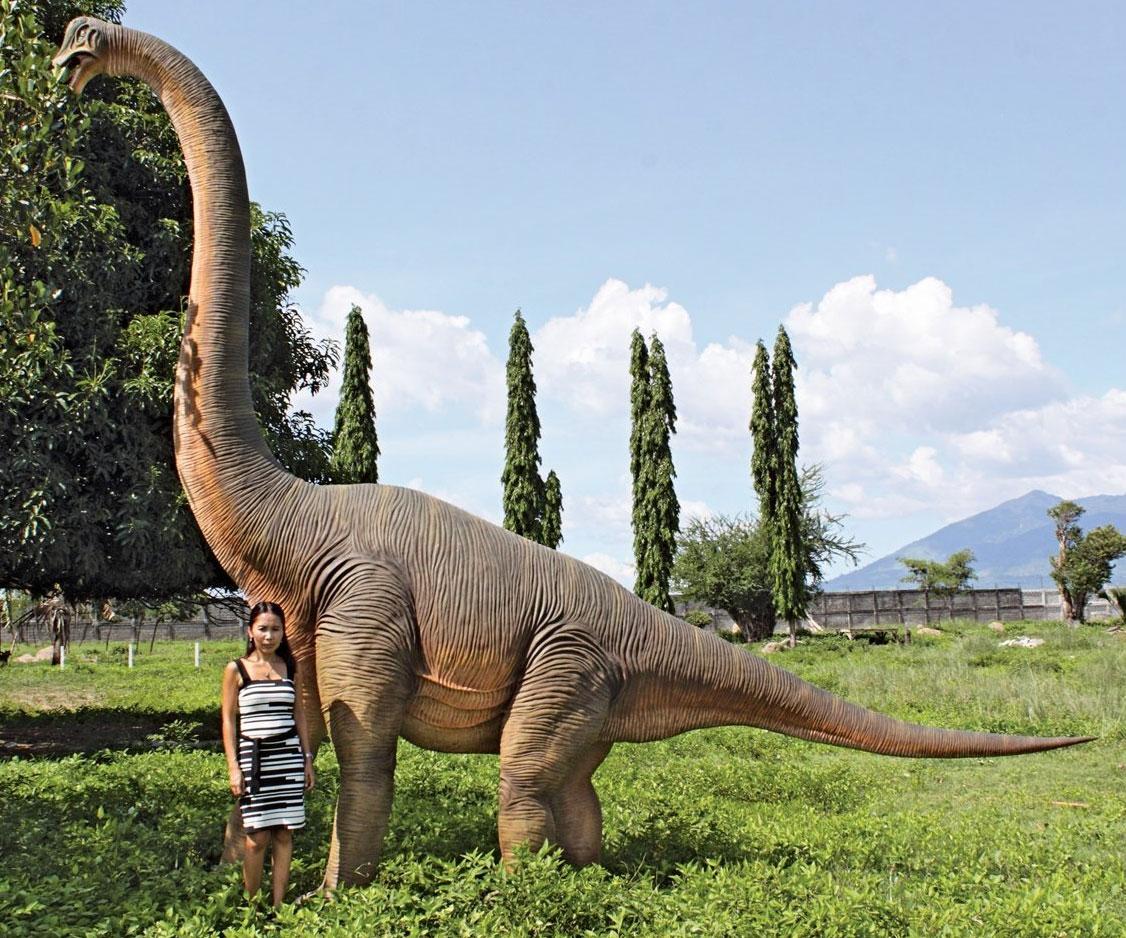 Giant Brachiosaurus Dinosaur Statue - coolthings.us
